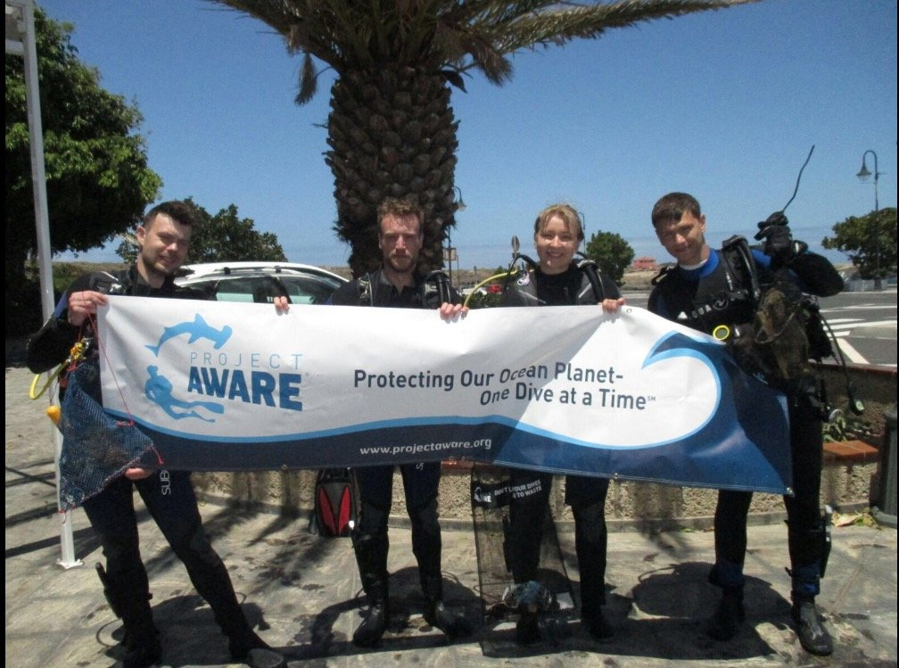 Project Aware Dives Tenerife