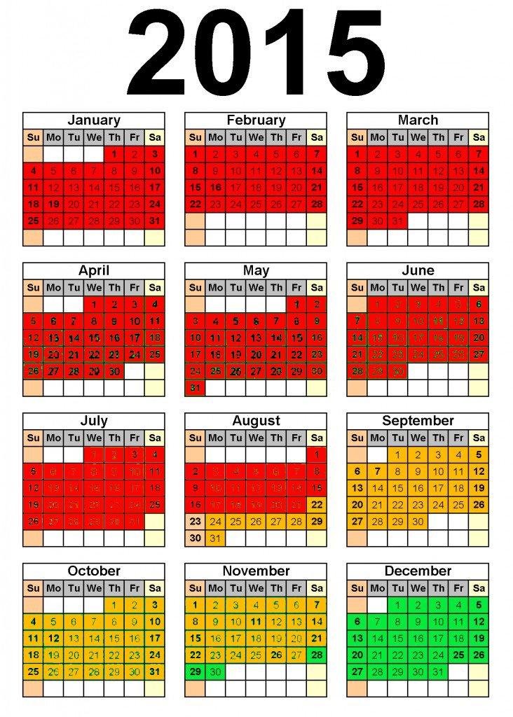 PADI Divemaster internship dates 2015