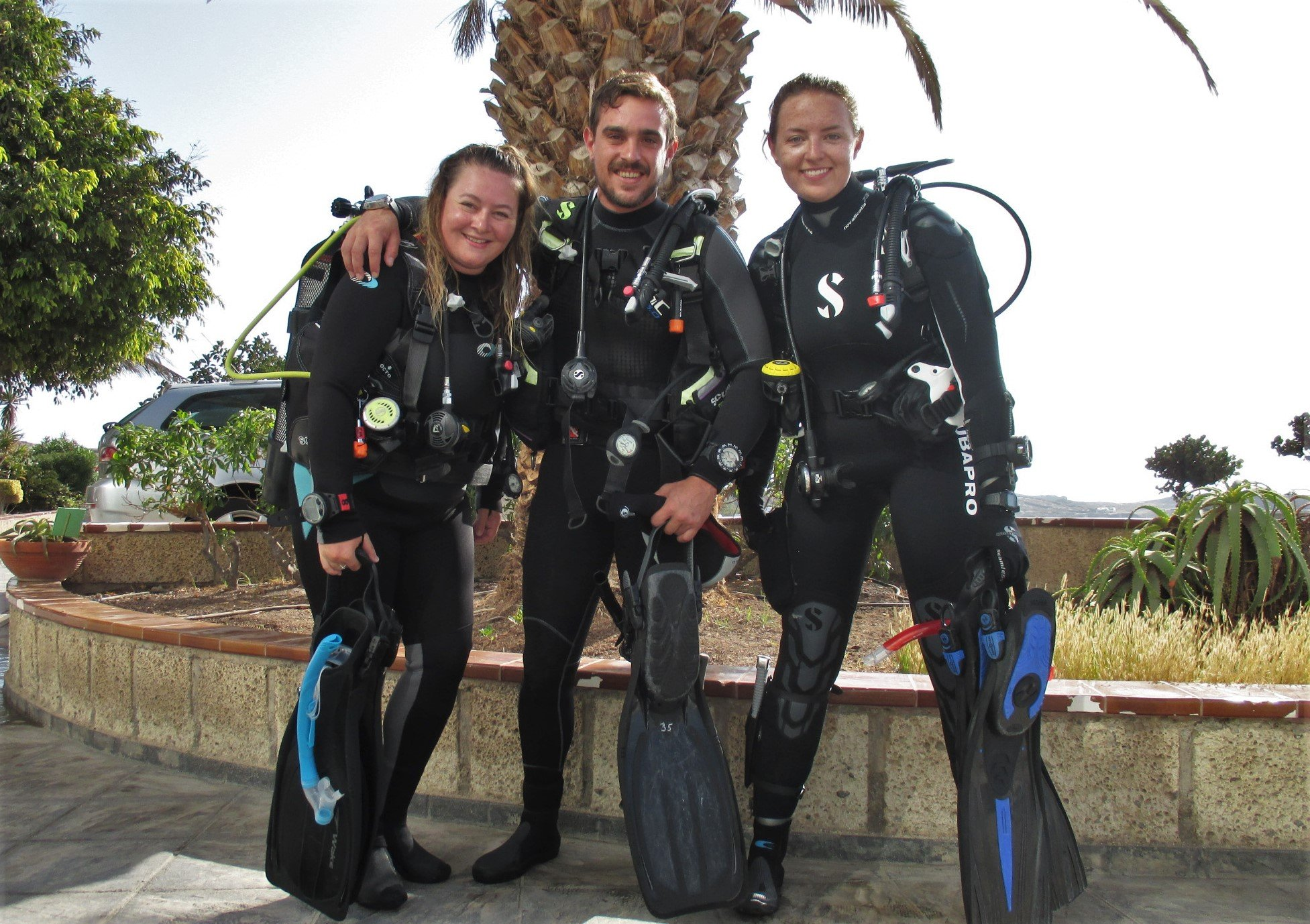 Mapping a Dive Site in Tenerife