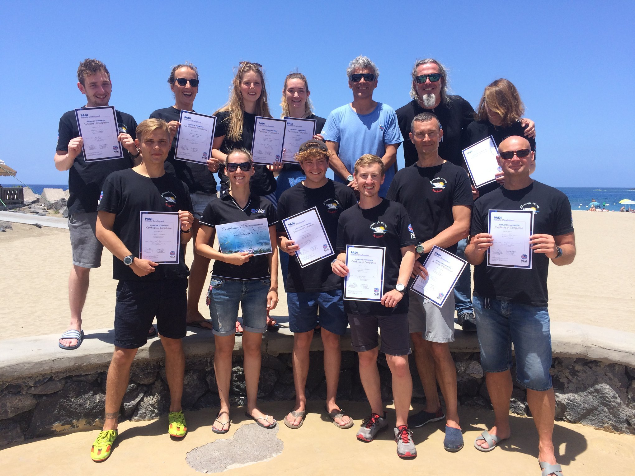 PADI Instructor course Tenerife