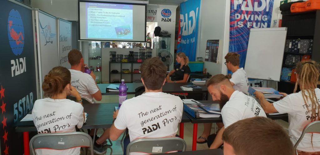 PADI IDC Instructor course