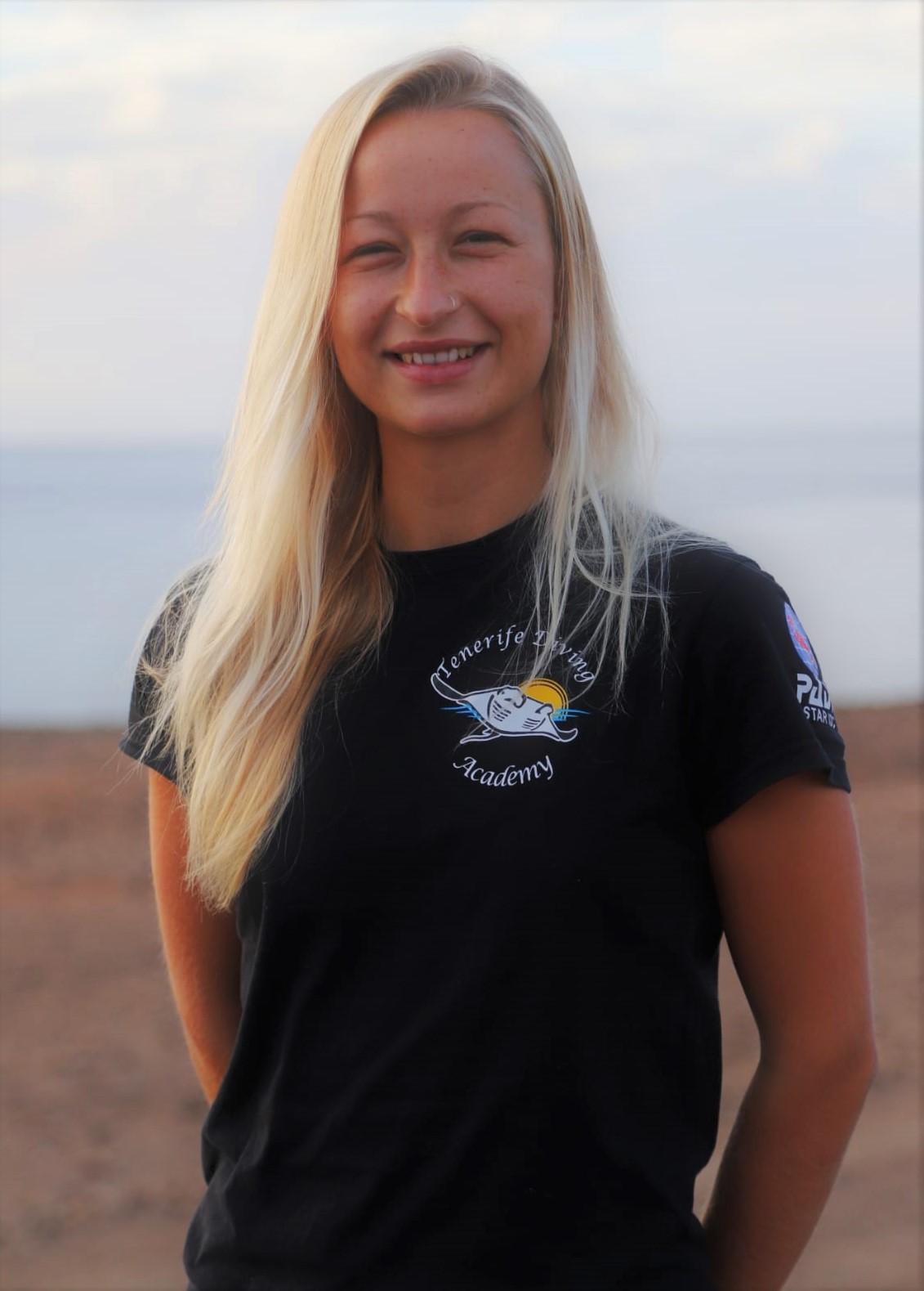 PADI Instructor Tenerife female
